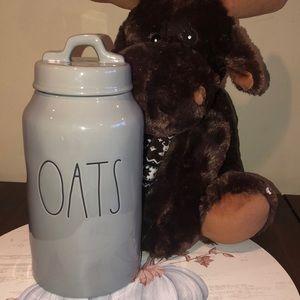 Rae Dunn OATS jar